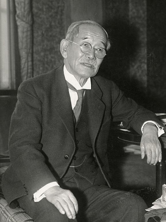 Kanō Jigorō etwa 1937
